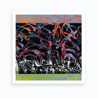 Graffiti Multicolor Art Print