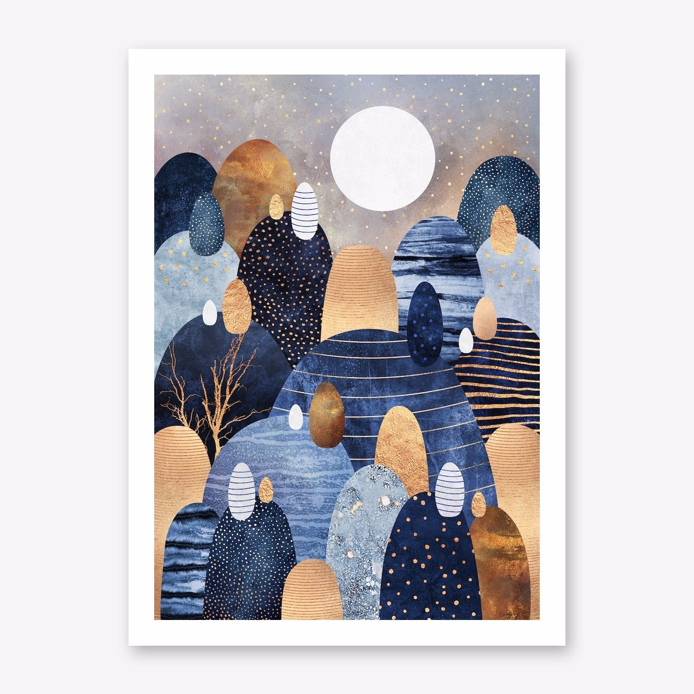 Little Land Of Pebbles - Blue Print