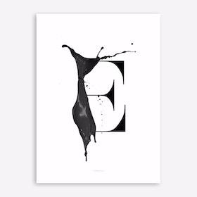 ABC Artsy 6 Art Print