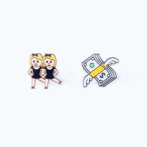 Pinaholic Emoji Pins