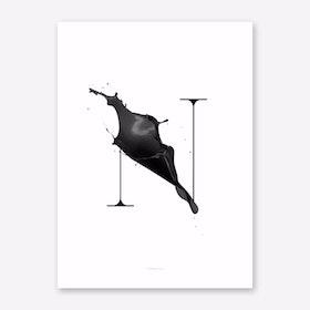 ABC Artsy 15 Art Print