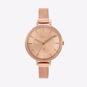The Ledbury Watch in Rose Gold