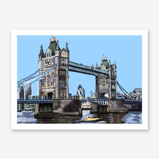 Tower Bridge Art Print