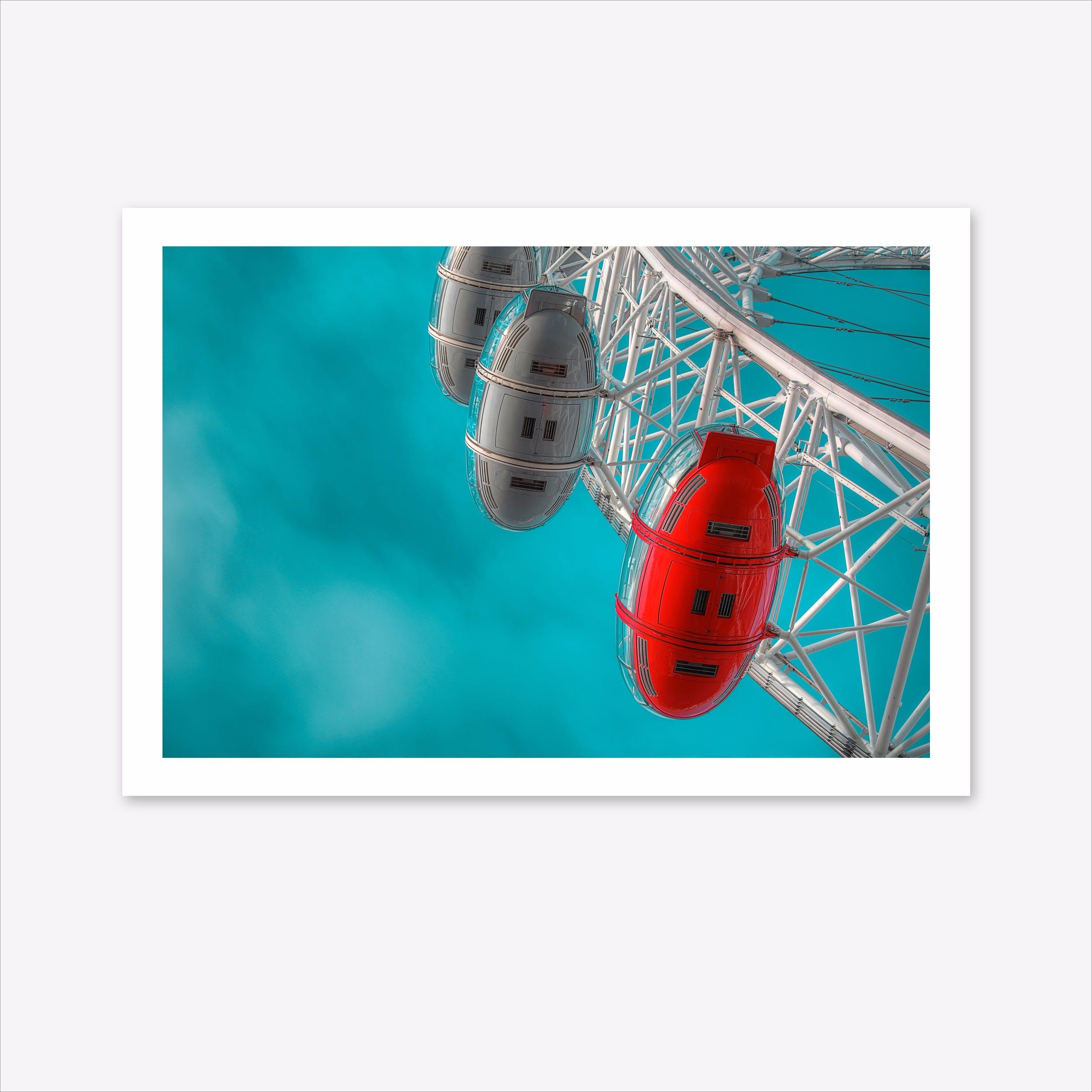 London Eye Nr.4 Art Print