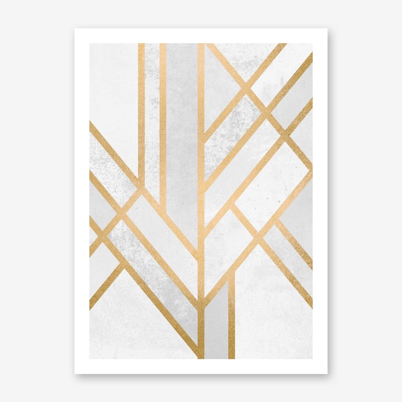 Art Deco Geometry II  in Print
