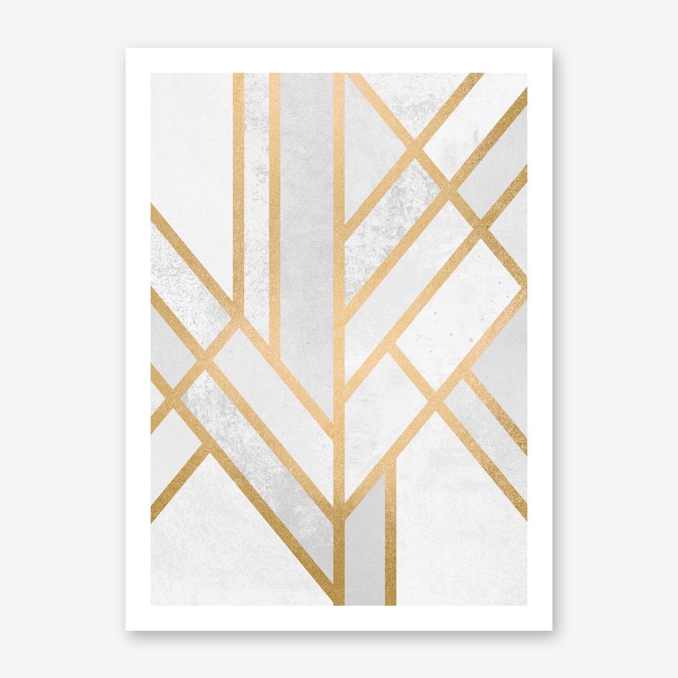 Art Deco Geometry II  in Print