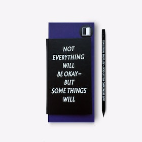 Not Everything Will be Okay Notebook