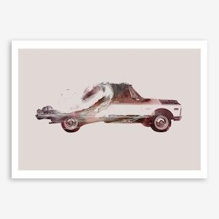 Drive Me Back Home 03 Art Print