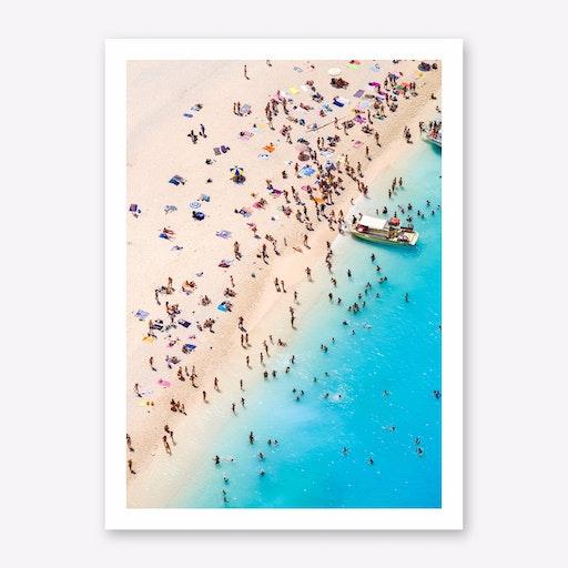 By The Sea II Print