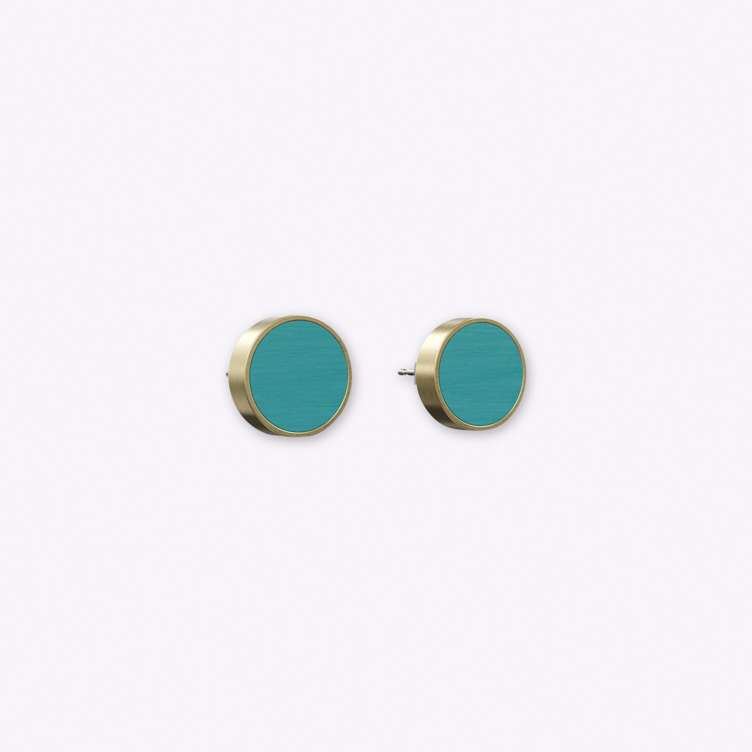 Determinative Earrings in Turquoise