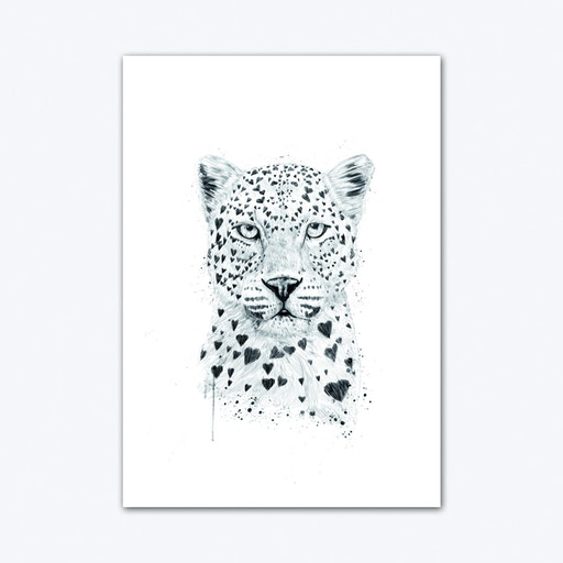 Lovely Leopard Art Print