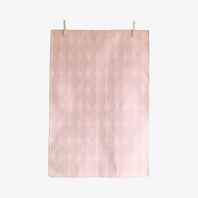 Olli Pink Tea Towel