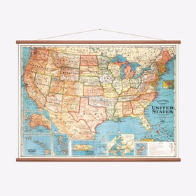 Map of the United States Print