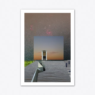 Atmosphere 31 - The Spanish Castle Magic Art Print