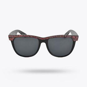 Pink Lagoon Wayfarer Sunglasses