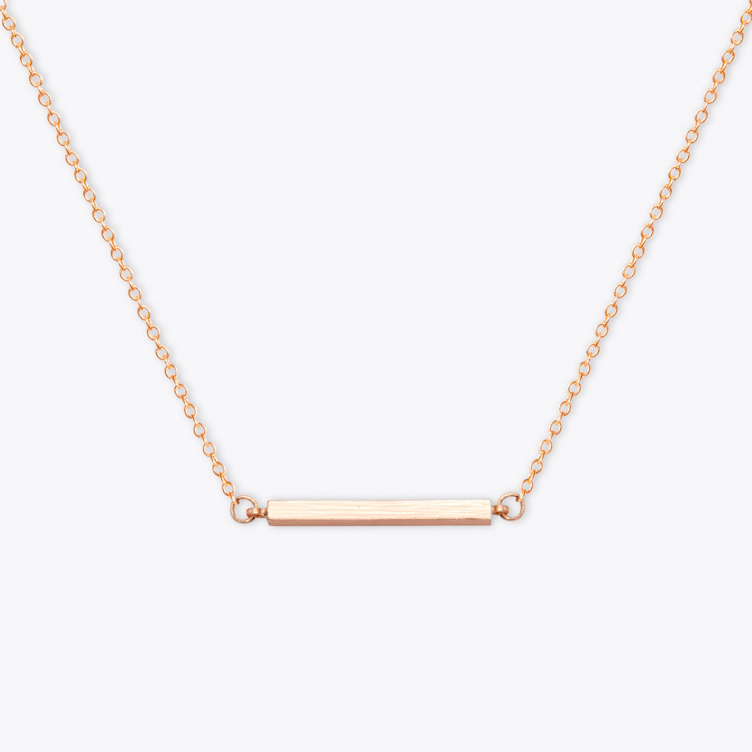 Gold Bar Choker