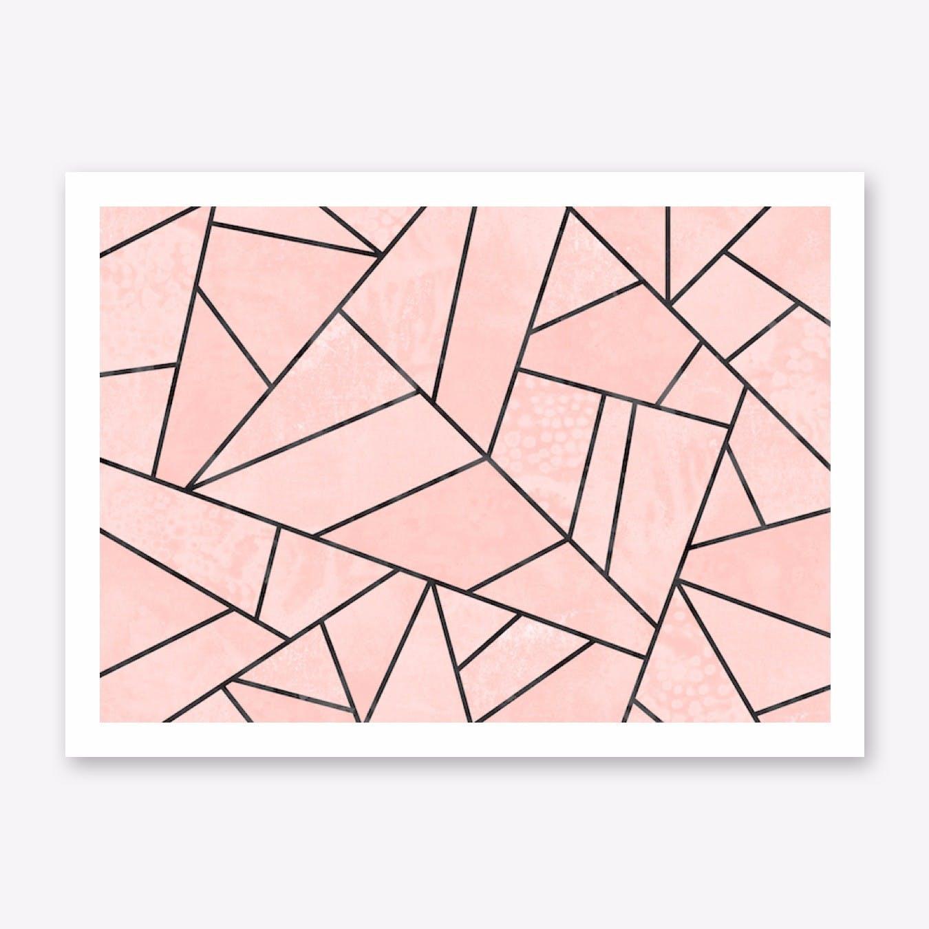Rose Stone Print