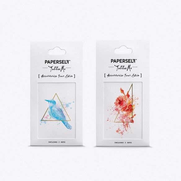 bd9497b6c Bird and Rose Temporary Tattoos by PAPERSELF. Discover Beauty on Fy