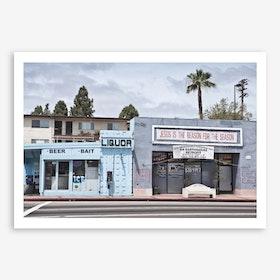 Liquor Store San Pedro Art Print