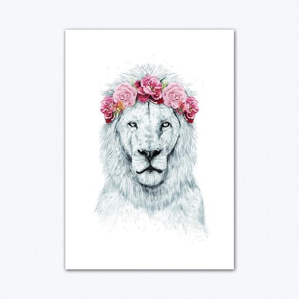 Festival Lion Art Print | Free Shipping | Fy