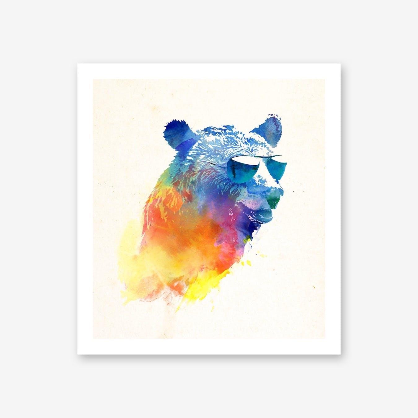 Sunny Bear Print