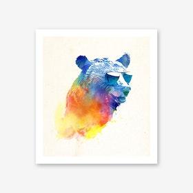 Sunny Bear Art Print