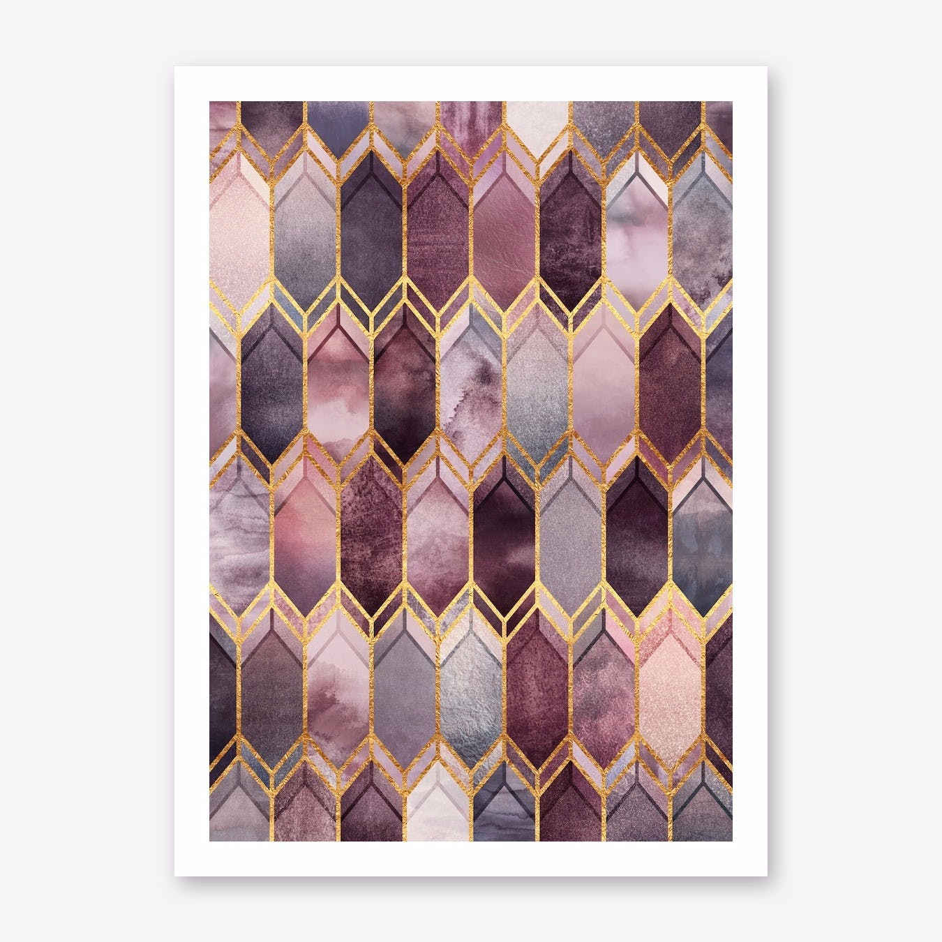 Dreamy Stained Glass Print
