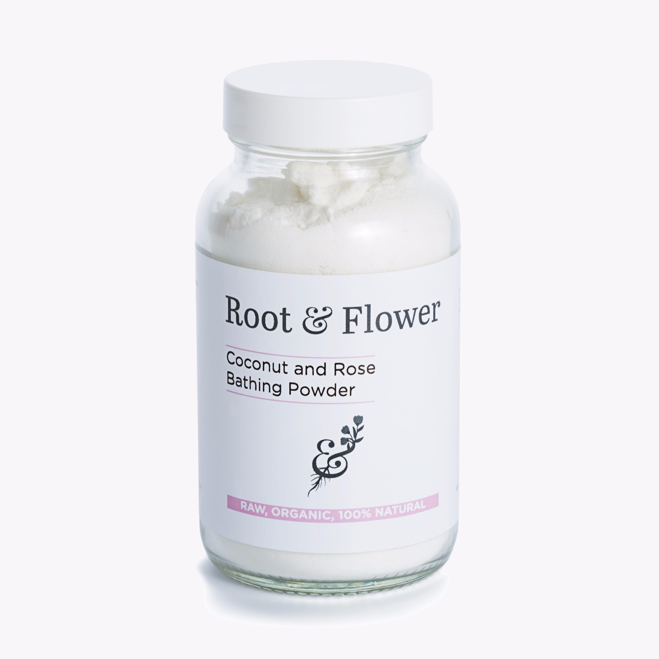 Coconut & Rose Bathing Powder 250g