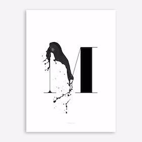 ABC Artsy 14 Art Print