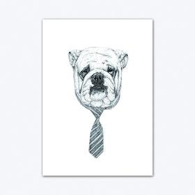 Cooldog Art Print