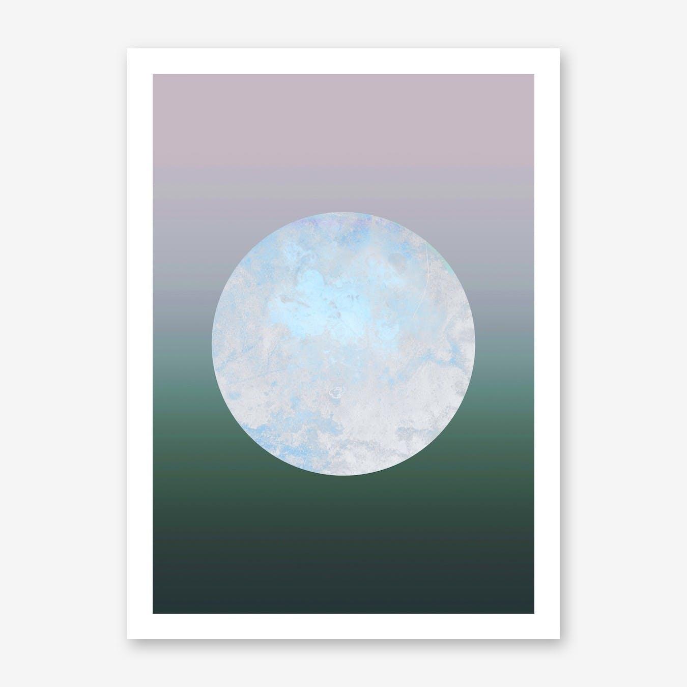 Metallic Moon Gradient