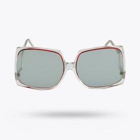 Holman Clear & Pink Sunglasses