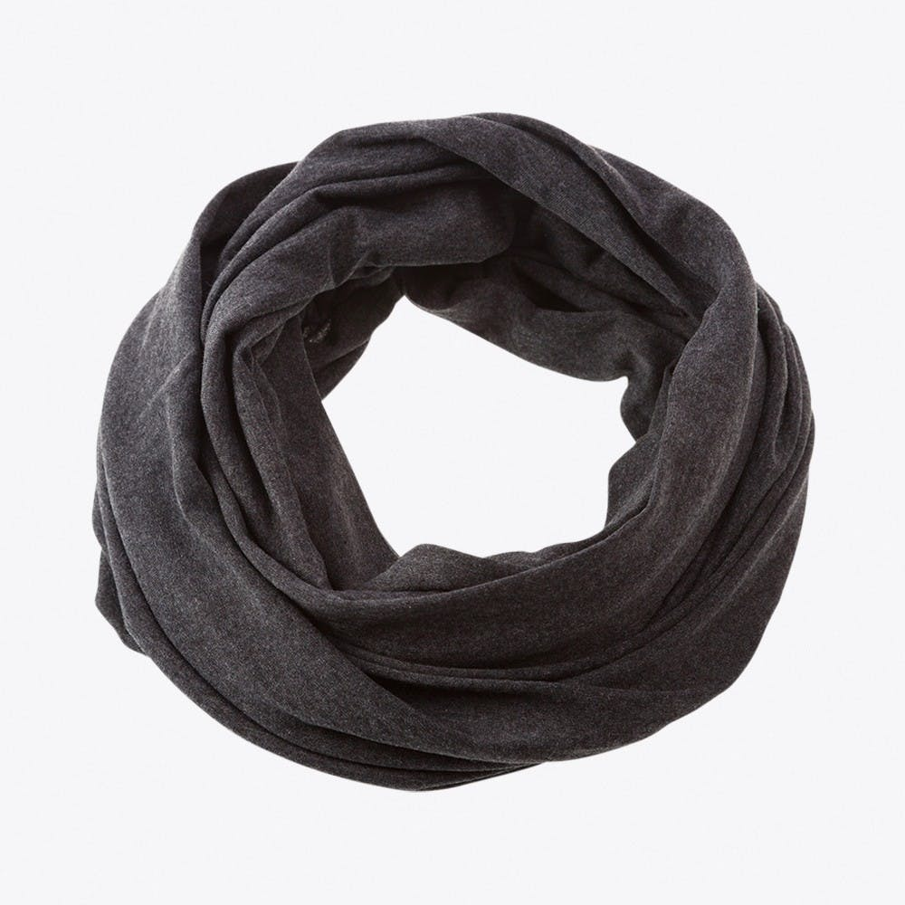Small Loop Scarf in Grey Anthracite
