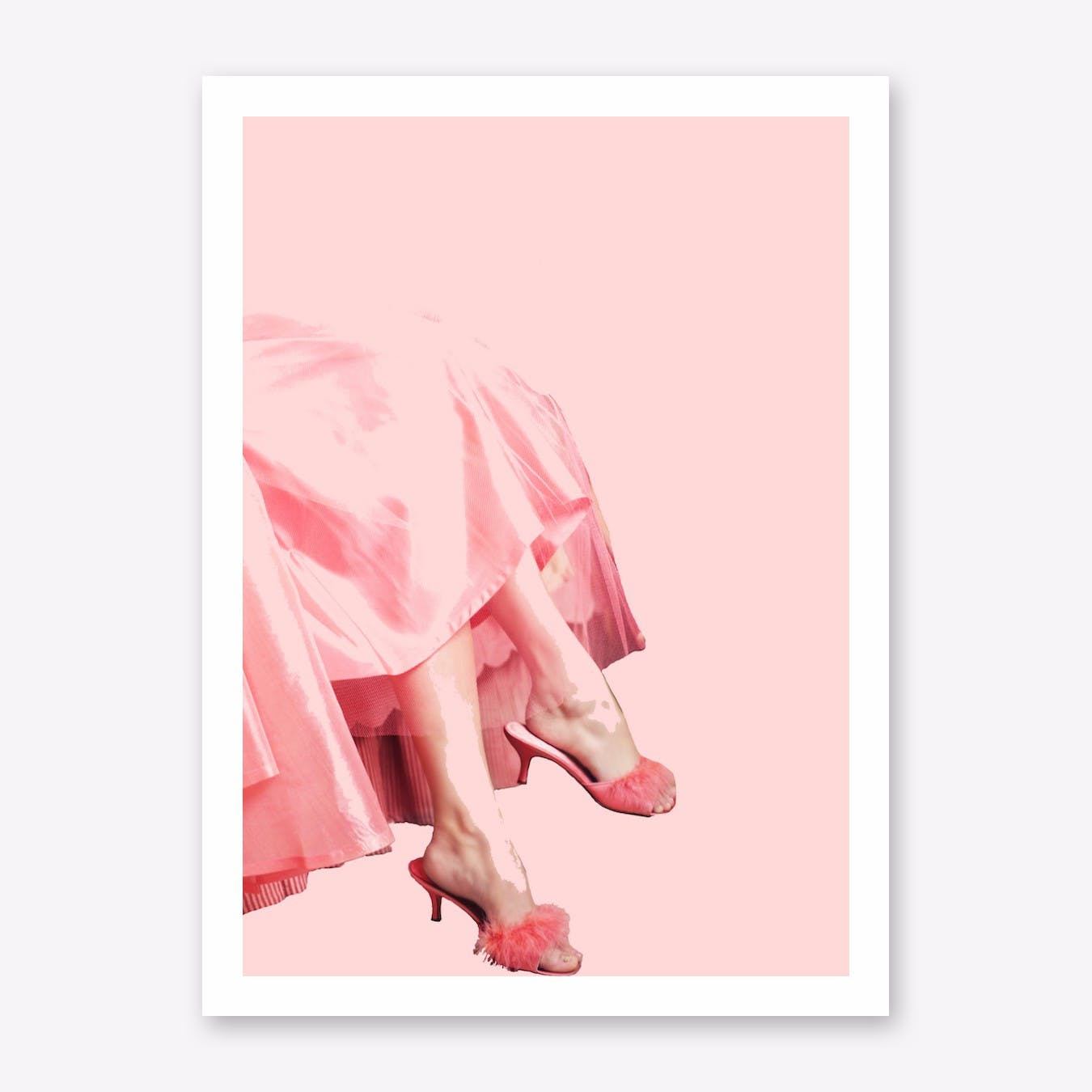 Pink Lady III Art Print