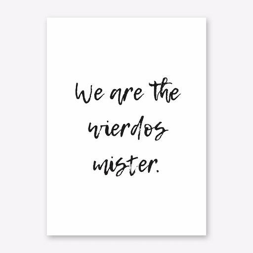 Wierdos Print