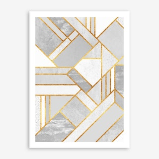 Gold City in Art Print