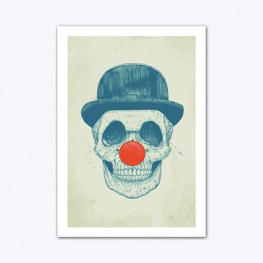 Dead Clown Art Print