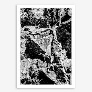 Rock Pattern Art Print