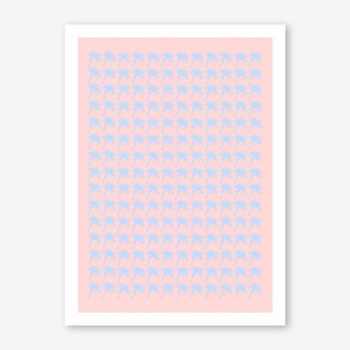 Paradise Repeating I Art Print