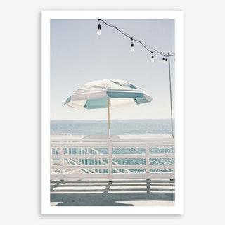 Blue Malibu single Art Print