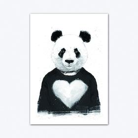 Lovely Panda Art Print