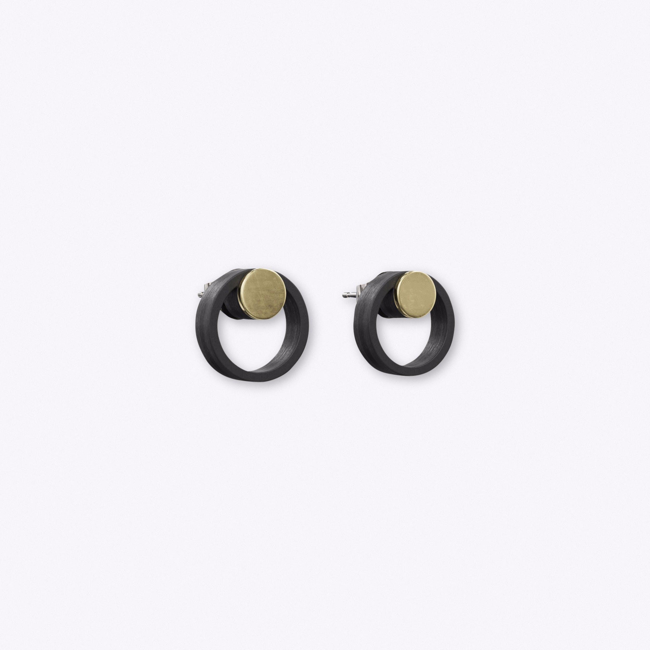 Artikel Earrings in Black