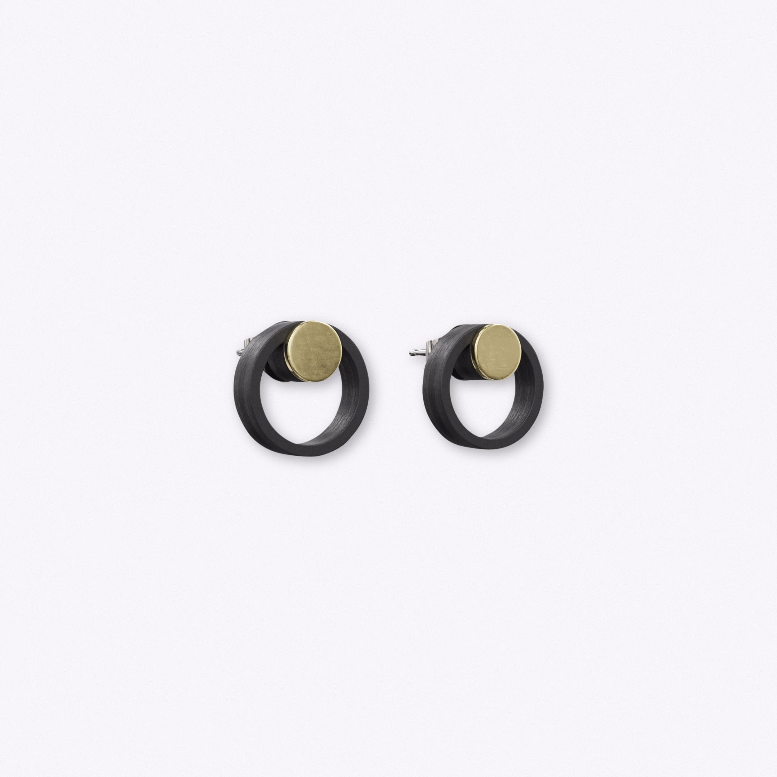 Artikel Earrings in Black
