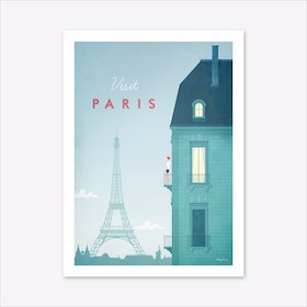 Visit Paris Art Print