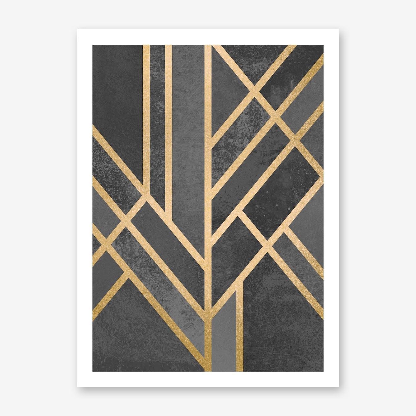 Art Deco Geometry I  in Print
