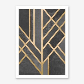 Art Deco Geometry I  in Print