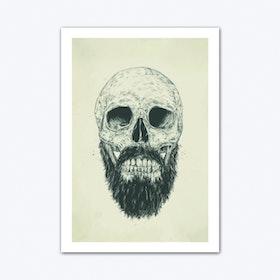 The Beard Is Not Dead Art Print