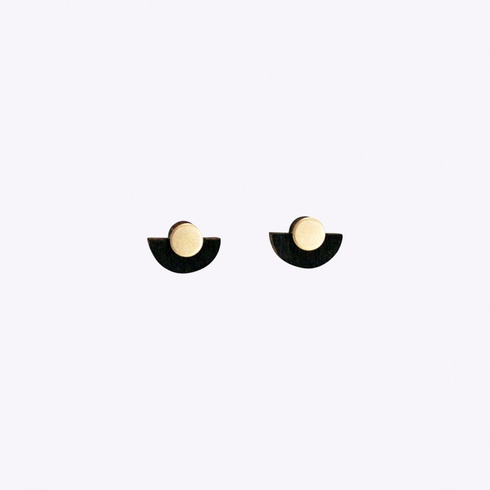 Appellativ Earrings in Black