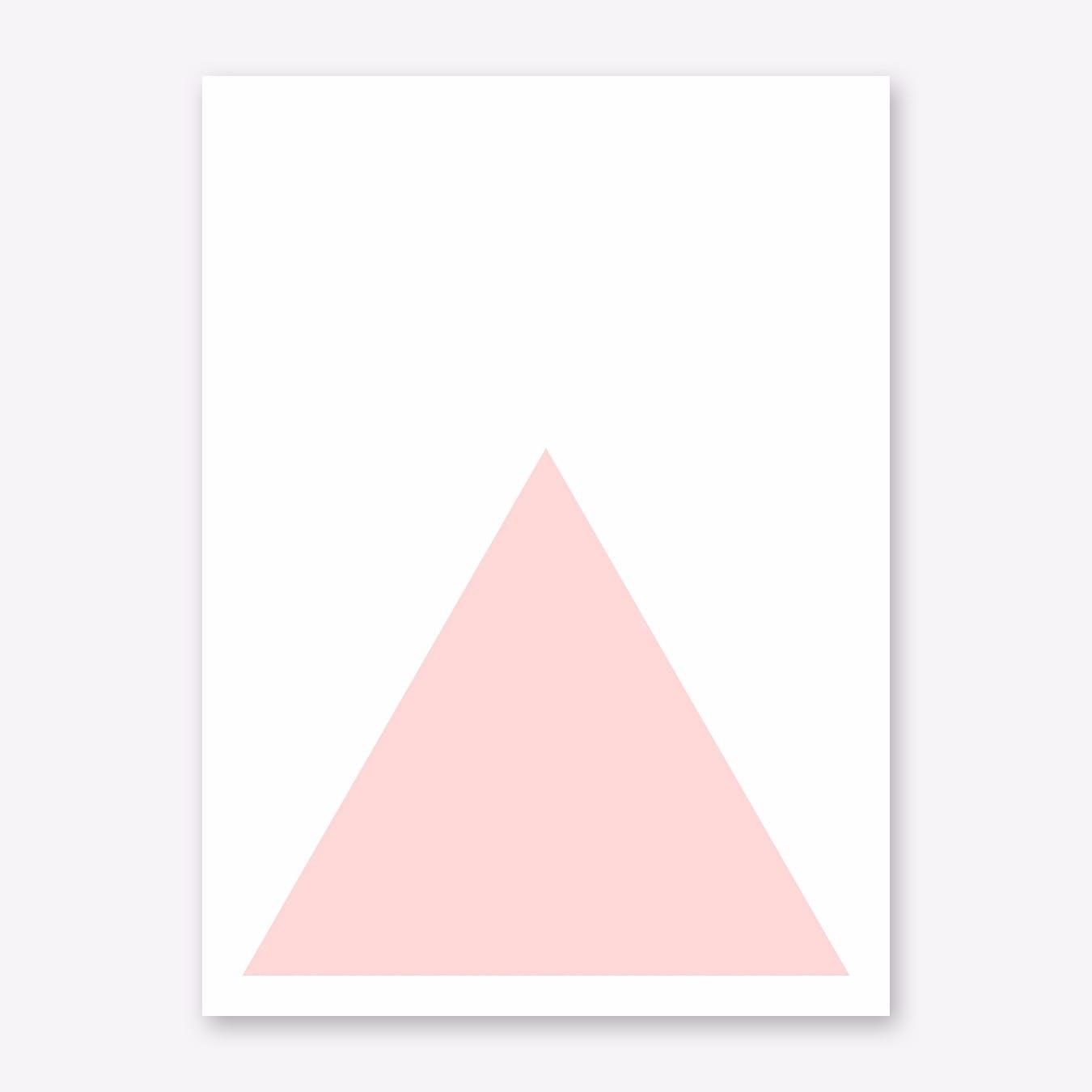 Pink Mountain I Print