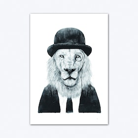 Sir Lion Art Print